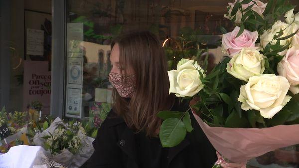 Les roses : un grand classique... agrémenté par le talent de Fanny