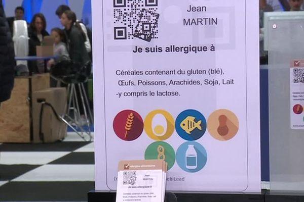 Laurent Tonnelier a conçu une application pour les personnes ayant des allergies alimentaires.