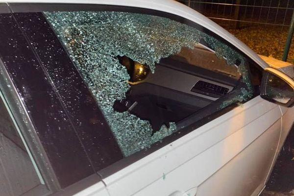 Les voitures de l'ESA Brive vandalisées samedi 30 novembre 2019
