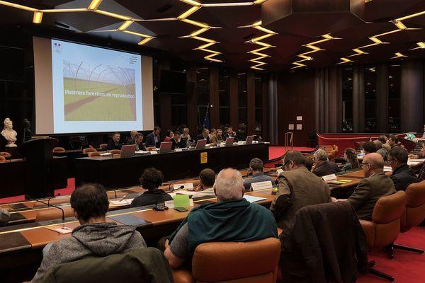 La commission régionale forêt-bois s'est réunie ce lundi 25 mars à l'Hôtel de région à Dijon.