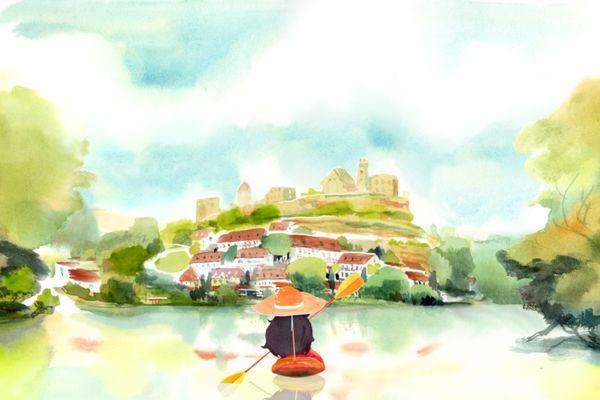 Dordogne revisite les souvenirs d'enfance de son héroïne, dans les années 80
