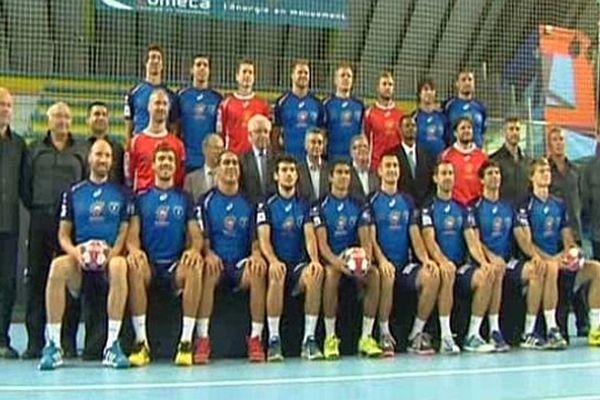 Montpellier - l'équipe 2013 du MAHB - août 2013.