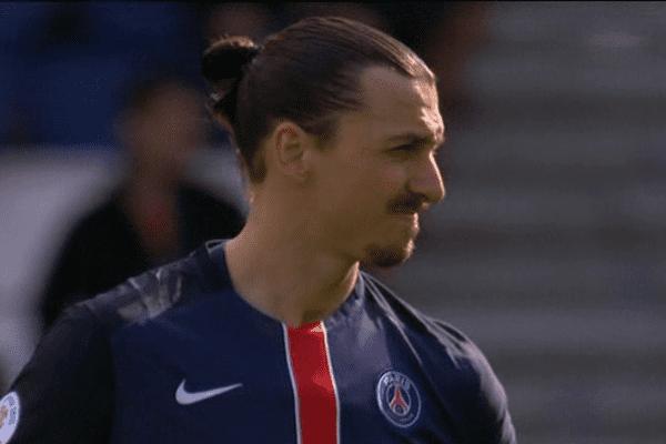 Le buteur du PSG Zlatan Ibrahimovic. ARCHIVES