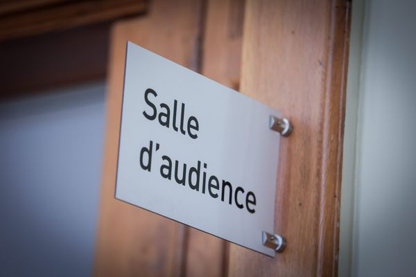 La salle d'audience du Tribunal de Grande Instance de Belfort.
