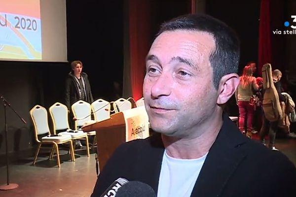 """Ami depuis plus de vingt ans avec Jean-Christophe Angelini, Jean-François Casalta est neuvième sur la liste """"Avanzemu !""""."""