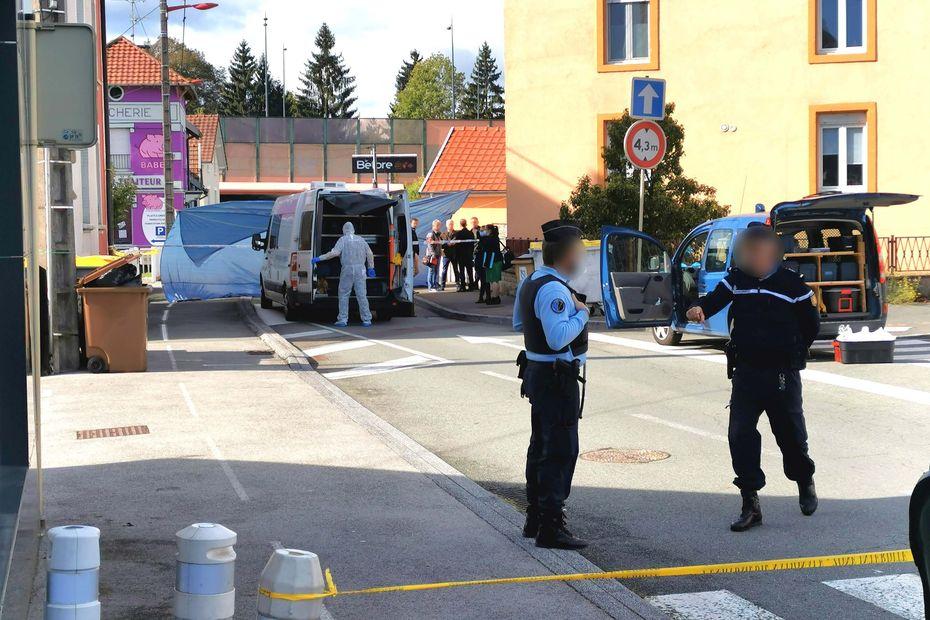 Danjoutin : un homme armé abattu par les gendarmes du Territoire-de-Belfort