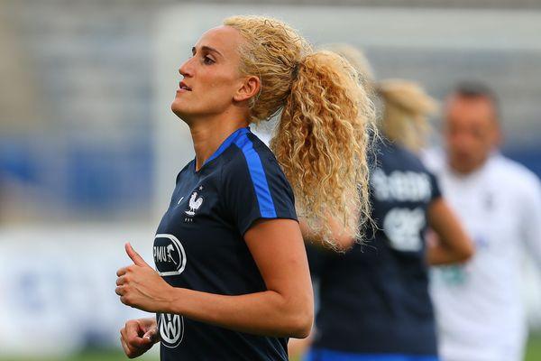 Kheira Hamraoui tentera de ramener une médaille de Rio avec l'équipe de France féminine de football