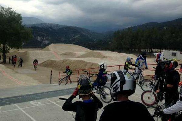 La piste BMX de Blausasc