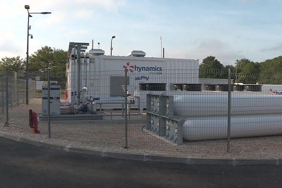 Auxerre : une première station à hydrogène vient d'être inaugurée