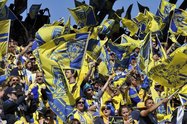 A l'occasion de la Nuit du rugby, lundi 18 septembre, Clermont a décroché le trophée du meilleur public.