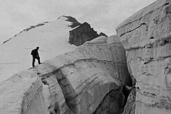 Le glacier de l'Aneto au XIXème siècle