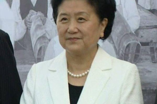 La vice-première ministre de la République de Chine.