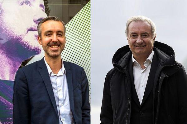 un duel Antoine Maurice, Jean-Luc Moudenc pour le 2ème tour des élections municipales à Toulouse