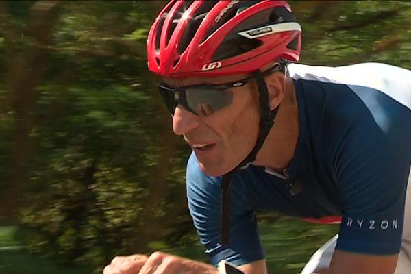 Frederic Severino, Commandant de police dans le quartier de l'Ariane à Nice, multiplie les triathlons