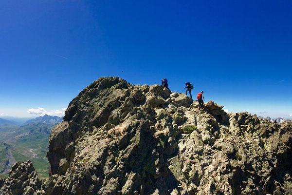 Ascension du Pic du Midi d'Ossau - Cap Sud Ouest