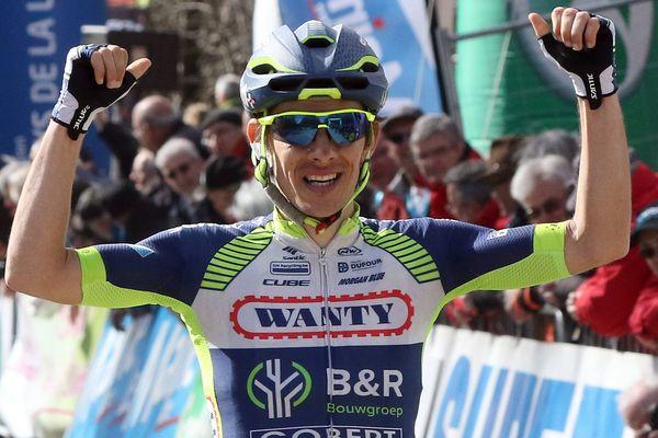 Guillaume Martin, vainqueur du circuit de la Sarthe, a notamment remporté la troisième étape le jeudi 5 avril 2018