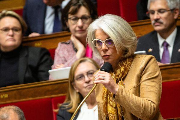 Sereine Mauborgne, députée La République en Marche, élue de la 4e circonscription du Var.