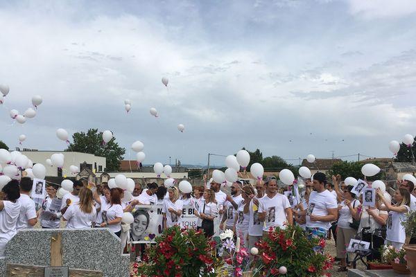 Marche blanche pour Maeva à bourg-Saint-Andéol