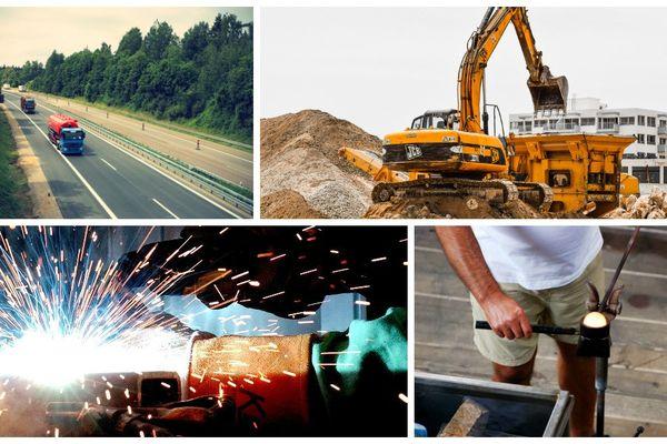 Les secteurs de l'industrie, de la logistique et des services font le plus souvent appel à l'intérim.