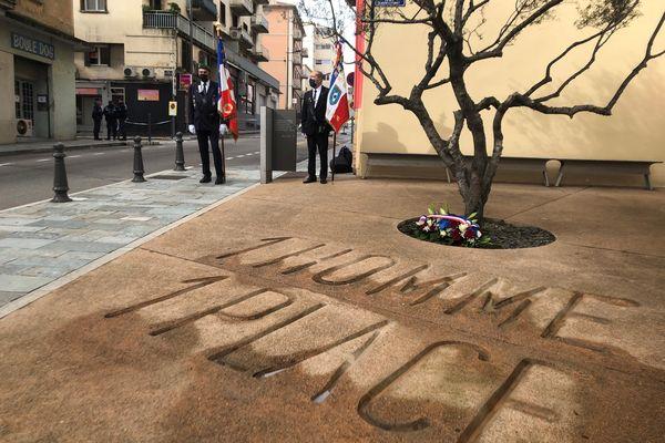 Ce samedi 6 février, à Ajaccio, s'est tenue la 22e commémoration de l'assassinat du préfet Erignac.