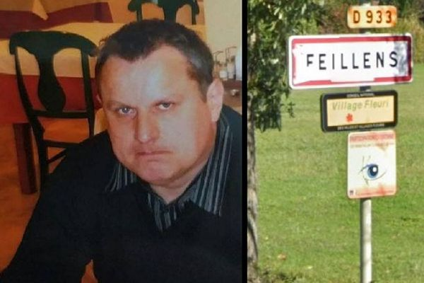 Patrick Bernet a 52 ans, il est recherché dans l'Ain depuis le lundi 14 décembre.