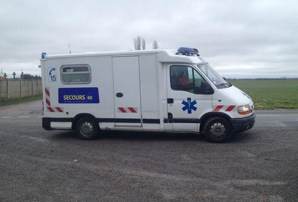 L'ambulance de l'association Secours 60 ne peut plus rouler.