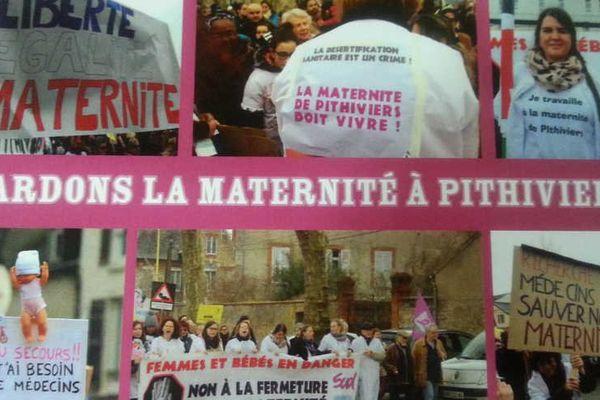 4.000 cartes éditées pour sauver la maternité de Pithiviers