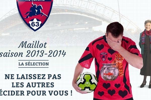 En se connectant via Facebook ou directement sur le site du Clermont-Foot, les supporters sont invités à choisir le futur maillot du club parmi 4 modèles pré-sélectionnés.