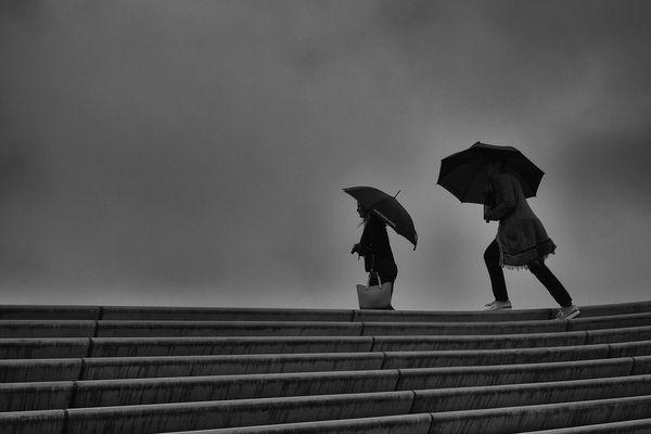 stormy weather by Georgie Pauwels