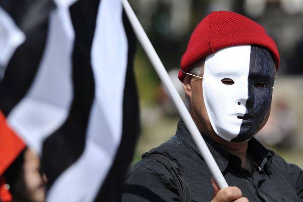 Le 31 mai dernier lors de la manifestation pour la réunification de la Bretagne, à Nantes