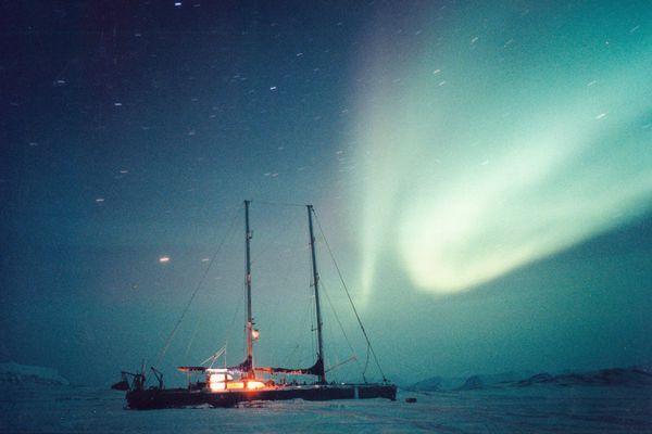 1995, hivernage au Spitzberg avec Antarctica.