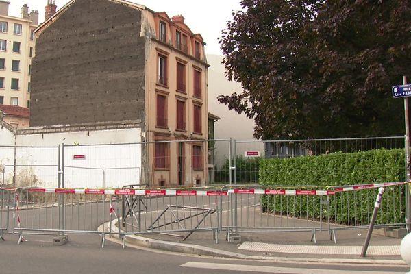 Risque d'effondrement d'immeubles à Villeurbanne