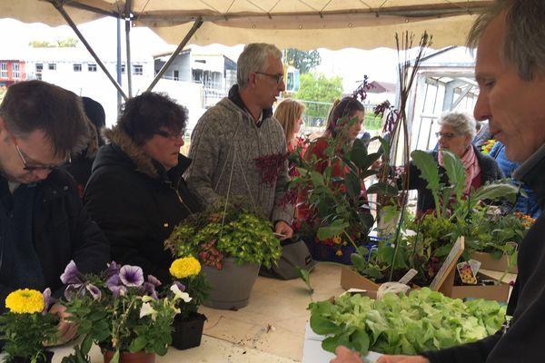 L'École d'Horticulture et de Paysage de Roville-aux-Chênes a ouvert ses portes au public.
