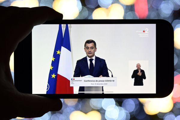 Le ministre de l'Intérieur, Gérald Darmanin, s'est exprimé sur les nouvelles mesures de déconfinement et de couvre-feu mises en place à partir du 15 décembre.