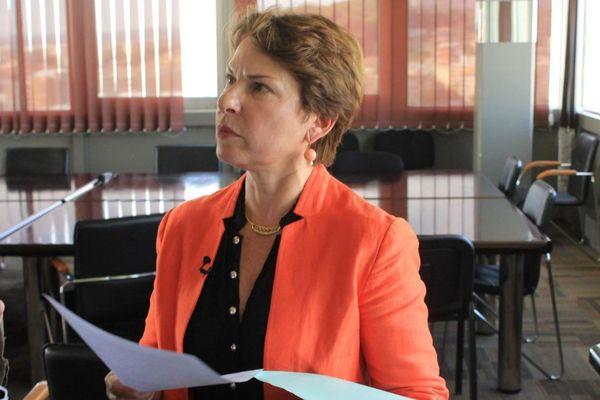 Elisabeth Pelsez, déléguée interministérielle à l'aide aux victimes était à Nice ce vendredi 6 octobre.