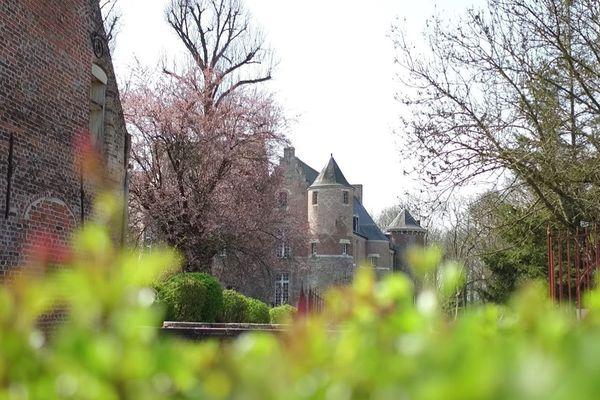 Le château du village d'Esquelbecq