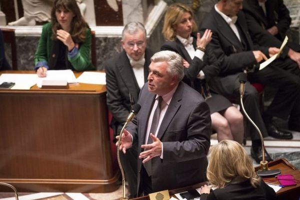 Frederic Cuvillier, Ministre delegue aupres du ministre de l Ecologie, du Developpement durable et de l Energie, charge des Transports, de la Mer et de la Peche.