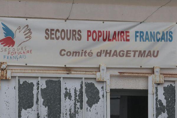 Au Secours Populaire français à Hagetmau, un quart des bénéficiaires sont des retraités.