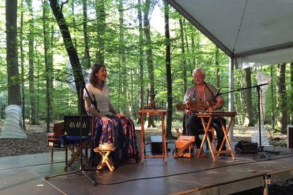 Le festival Summerlied est annulé cette année encore à cause des arbres qui menacent de tomber dans la forêt.
