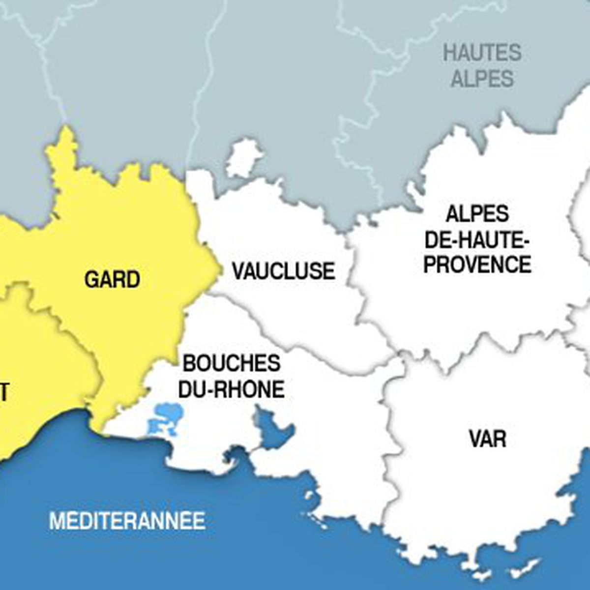 La Future Carte De La Region