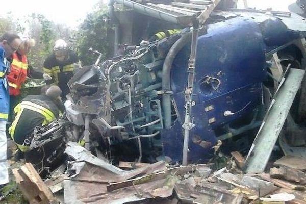 Le fait le plus marquant, c'est cet accident d'hélicoptère survenu à Bart dans le Doubs.