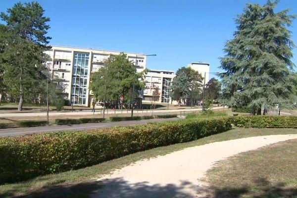 Le campus de Dijon de l'université de Bourgogne.