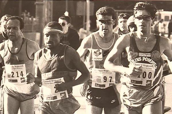 Tony Martins au Marseille-Cassis en 1990