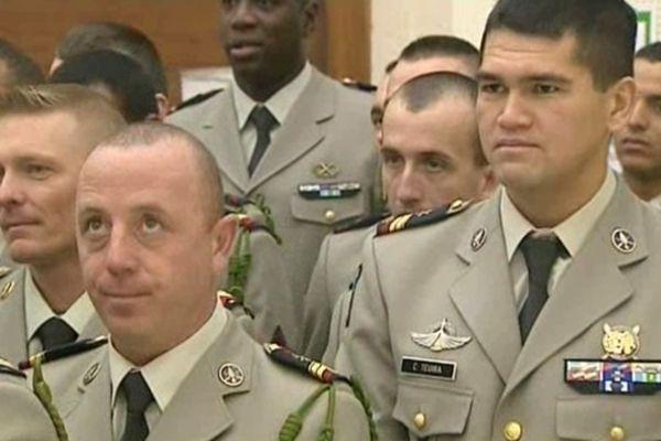 Les hommes du 92è RI ont répondu présents à l'invitation du Conseil général du Puy-de-Dôme
