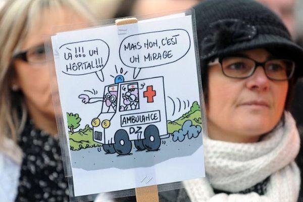 Photo prise lors de la manifestation du 17 janvier