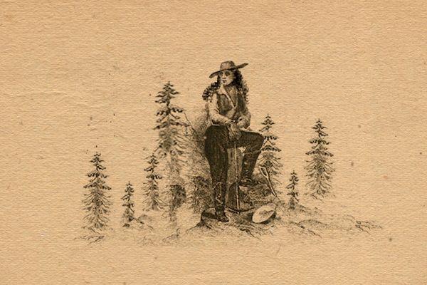 Marie Suize Pantalon, gravure du XIXème.