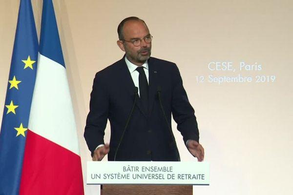 Edouard Philippe le 12 septembre à Paris