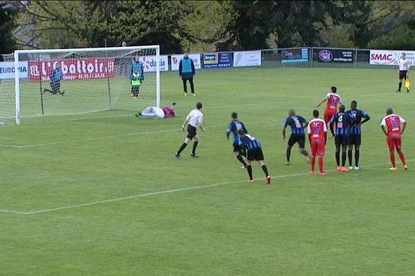 Le Limoges FC est passé à côté de son match face à Villenave.