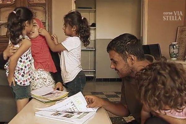 La famille Al Rahmoun à Belgodère.