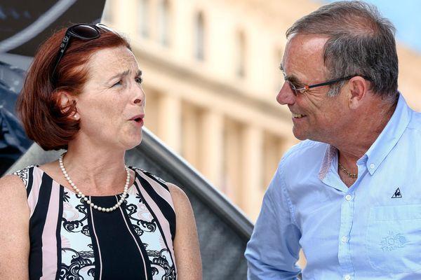 Martine Berthet, maire d'Albertville, est en tête des élections sénatoriales en Savoie.